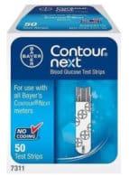 Contour Next 50 Test Strips - cash for diabetic test strips Connecticut sell diabetic test strips