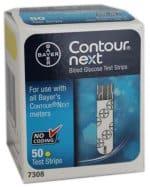 Contour Next DME 50 Test Strips - cash for diabetic test strips Connecticut sell diabetic test strips