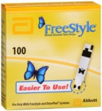FreeStyle 100 Test Strips - cash for diabetic test strips Connecticut sell diabetic test strips