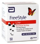 FreeStyle Lite 50 Mail Order Test Strips - cash for diabetic test strips Connecticut sell diabetic test strips