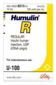 Humulin R - cash for diabetic test strips Connecticut sell diabetic test strips