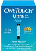 One Touch Ultra Blue 100 Test Strips - cash for diabetic test strips Connecticut sell diabetic test strips