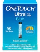 One Touch Ultra Blue 50 Test Strips - cash for diabetic test strips Connecticut sell diabetic test strips